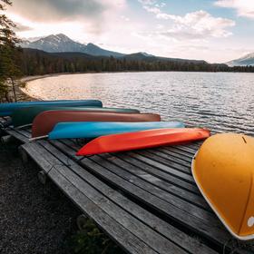 Edith Lake, Jasper NP, Alberta, Kanada