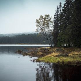 Podzim u přehrady