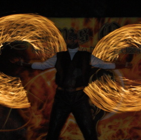 ohnive kruhy