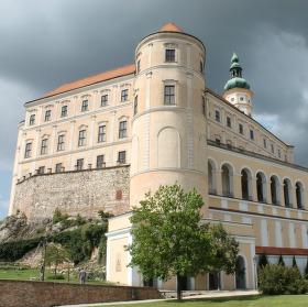 Krásný zámek v Mikulově :)