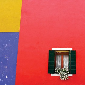 farebné steny