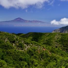 Nejvyšší hora Španělska Pico de Teide