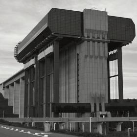 Největší lodní výtah na světě.