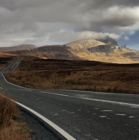 Drsně krásné Skotsko - Cesta na sever