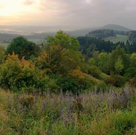 Ráno v Železných horách