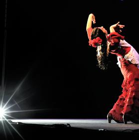 Tanečnice flamenka