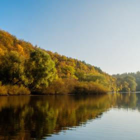 Podzim na Brněnské přehradě