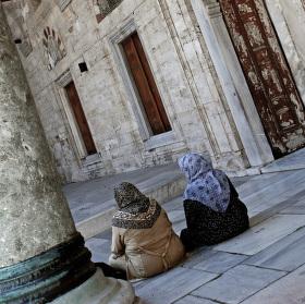 Před modlitbou