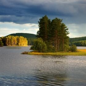 Švédská  jezerní