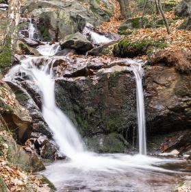 Podzimní vodopády II.