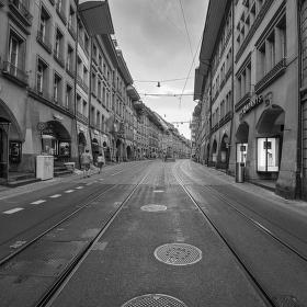 street Bern aneb když velkoměsto zeje prázdnotou