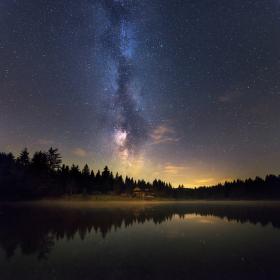 Mliečna cesta k jazeru II