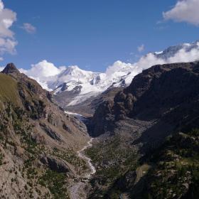Breithorn 4164 m. a okolí