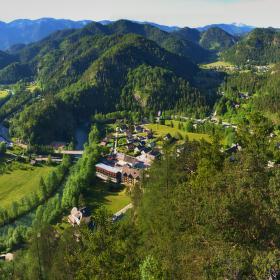 údolí Salzy