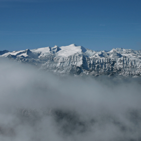 výhledy z Kitzsteinhornu