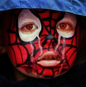 Spiderman také pláče