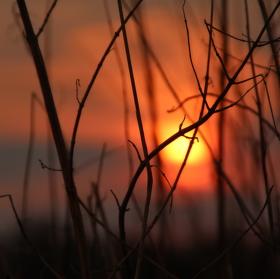 kdžy slunce zapadá..