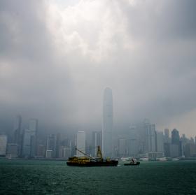 Ráno v Hong Kongu