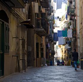 Neapolská ulička ....