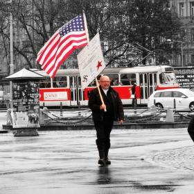 Americký vlajkonoš