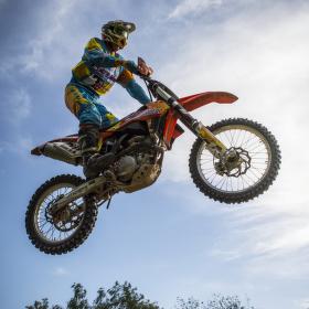 Dirtbike jump