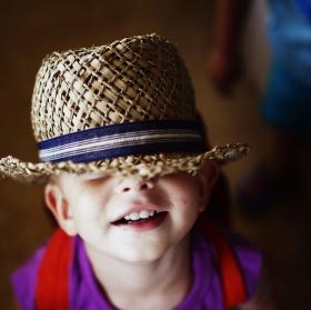 Nejmenší turista připraven :))