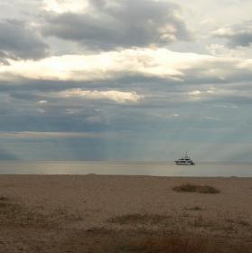 Paprsky a loď