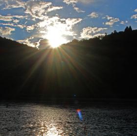 Svítání nad Rýnem