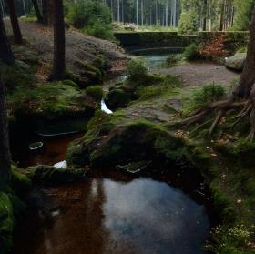 Potok Černá Nisa v Jizerských horách
