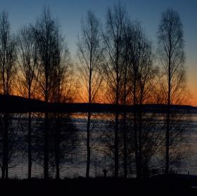 Severský západ slunce