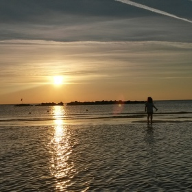 Procházka v moři