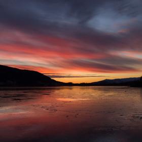 Zapad nad fjordem