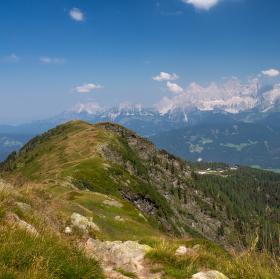 Výhled na Dachstein