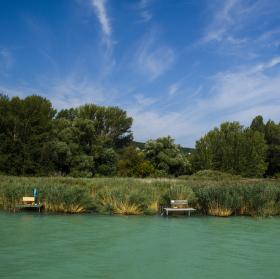 Břeh jezera Balaton