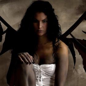 Padlý anděl...
