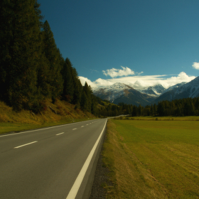 Alpskou cestu