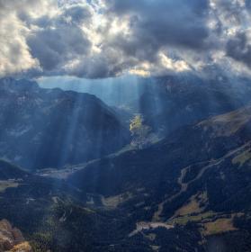 Údolí Val di Fassa