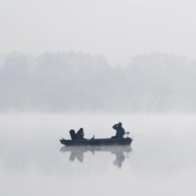 Rybačka v mlze