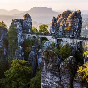 Skalní most - Saské Švýcarsko