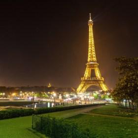 Eiffelova vež v zahradě - Copyright Tour Eiffel - Illuminations Pierre Bideau