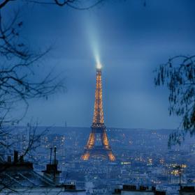 Maják uprostřed Paříže
