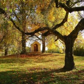 Podzim na návsi