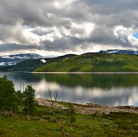 Mračna nad Norskem......