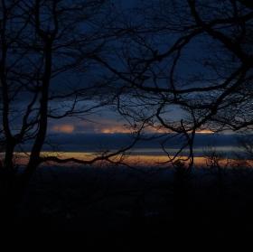 Slunce za horizontem