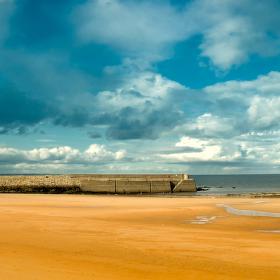 Pláž v St Andrews