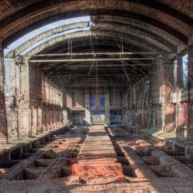 Kladenské železárny II. rudné zásobníky (Vojtešská huť)