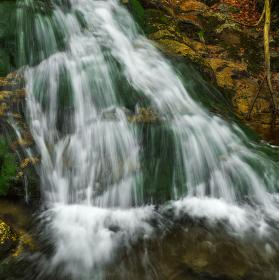 Vodopád malé Moravy