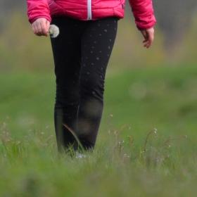 Jen tak na procházce s dcerkou