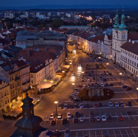 Noční Velké náměstí