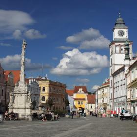 Náměstíčko v Třeboni.